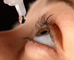 Lubricación ocular con lágrima artificial